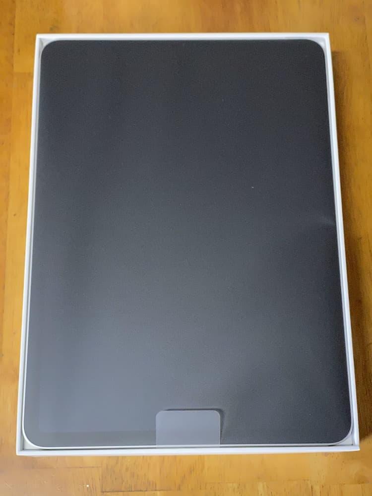 iPad Pro(2020)11インチ。開封