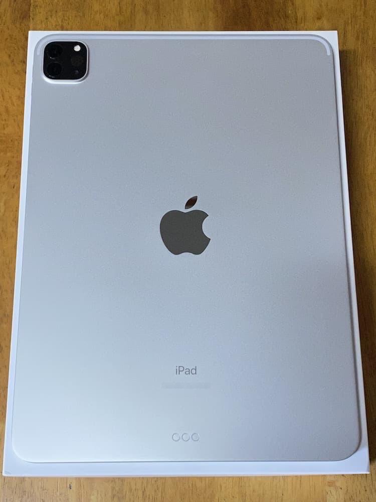 iPad Pro(2020)11インチ。背面