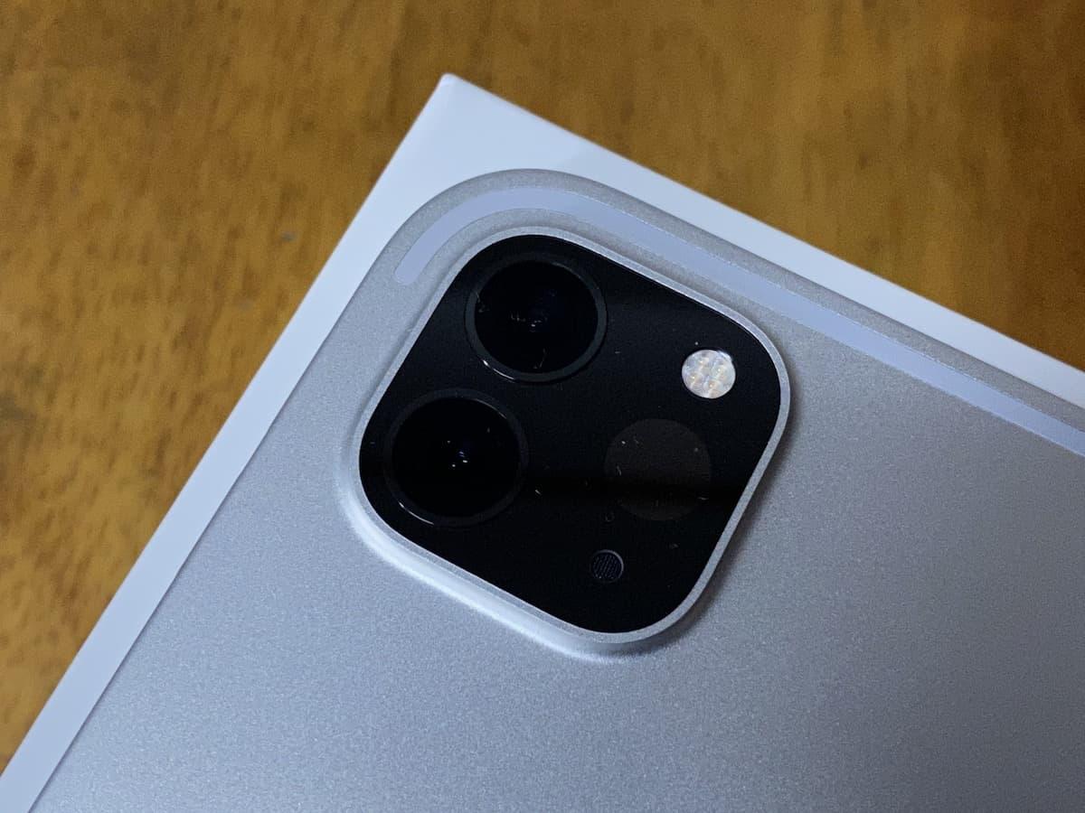 iPad Pro(2020)デュアルカメラ
