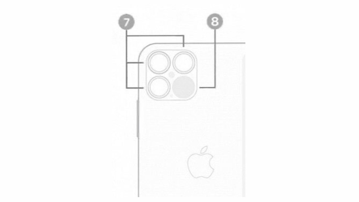 iPhone 12 Pro 4眼カメラ