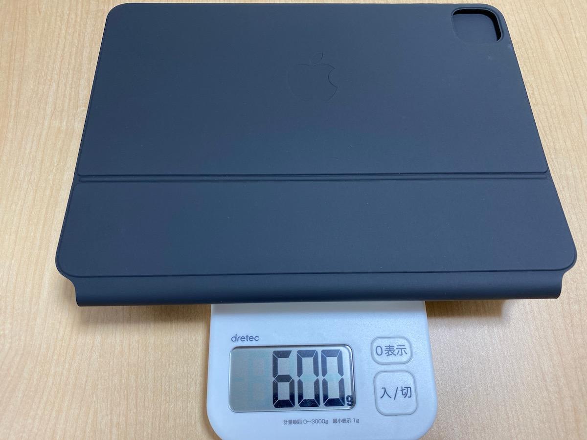 重さ・600グラム