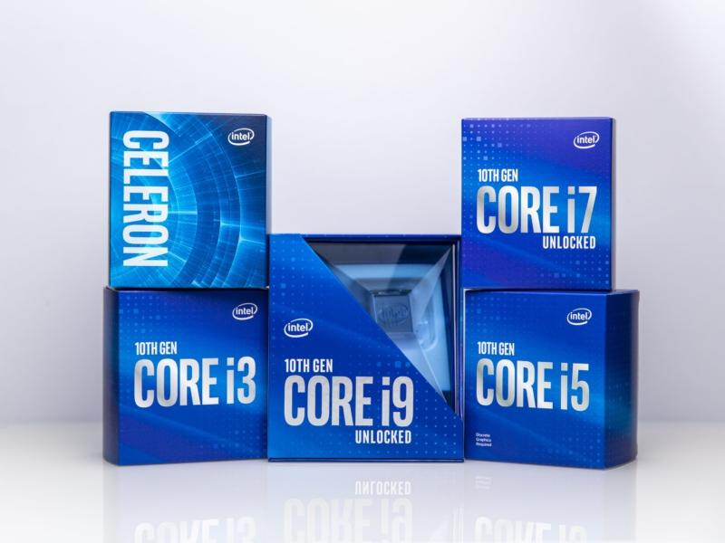 Intel、第10世代Coreプロセッサ