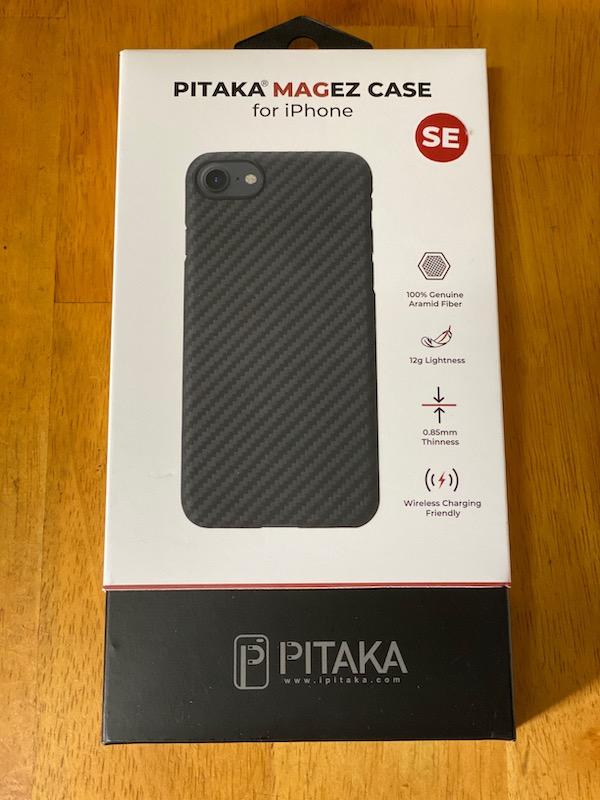 PITAKA MagEZ Case iPhone SE 第2世代 対応 ケース 2020新型