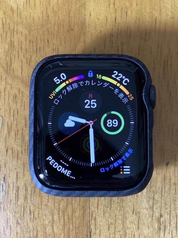 Apple Watchにケースを装着