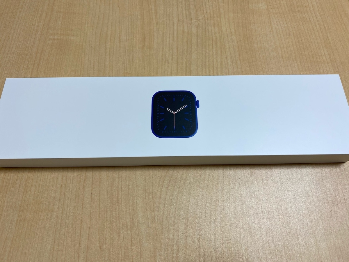 Apple Watch 6の箱