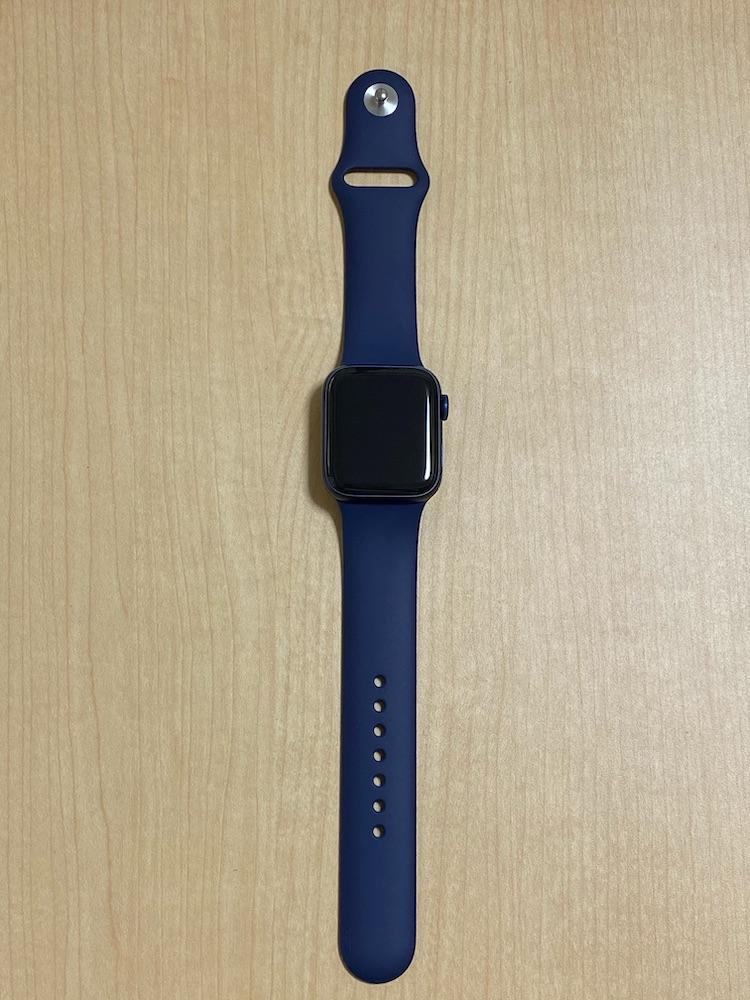 Apple Watch 6の本体とバンド