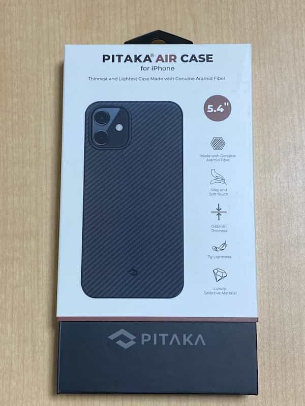 PITAKA iPhone 12 mini Air Case。5.4インチ