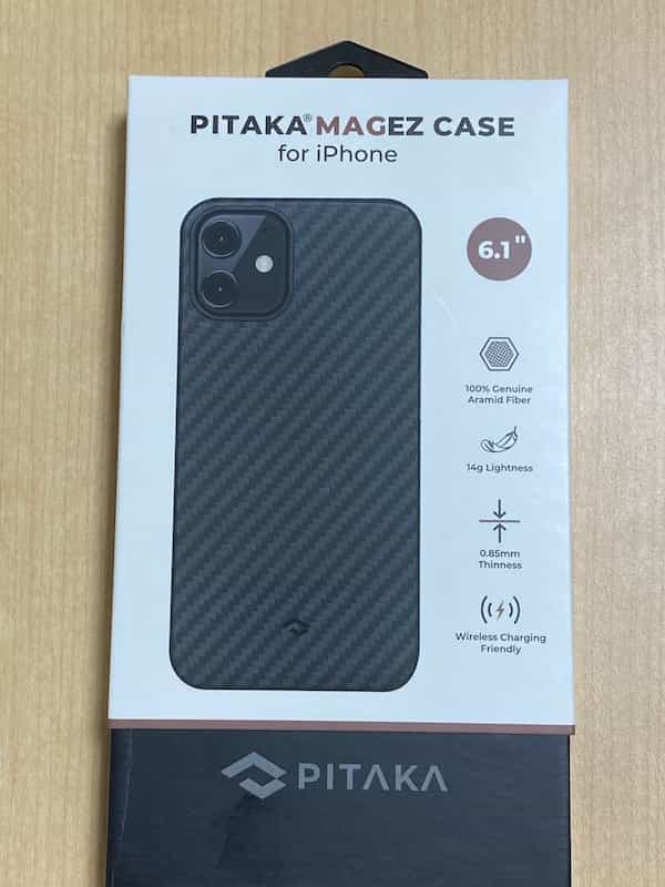 PITAKA iPhone 12 MagEz Case。6.1インチ