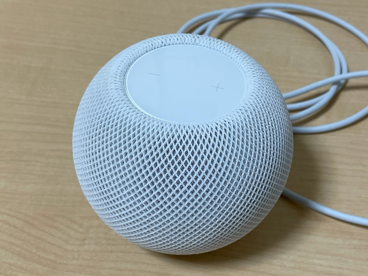 HomePod mini本体