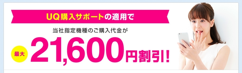 UQ購入サポート