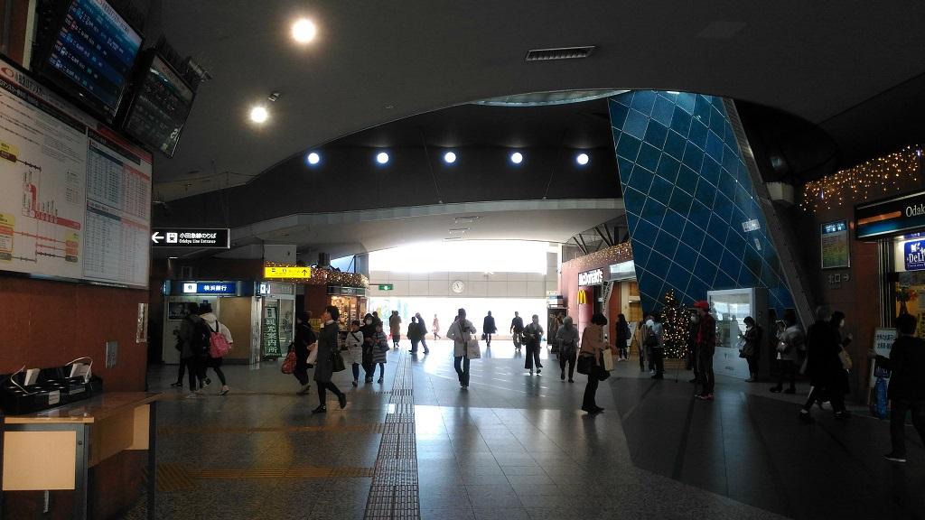 秦野駅改札