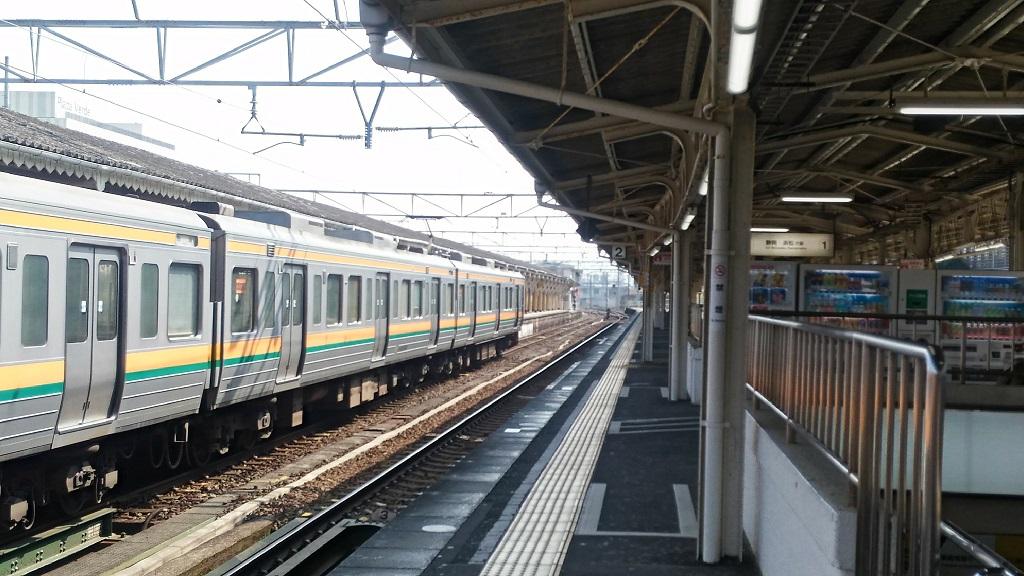 沼津駅ホーム