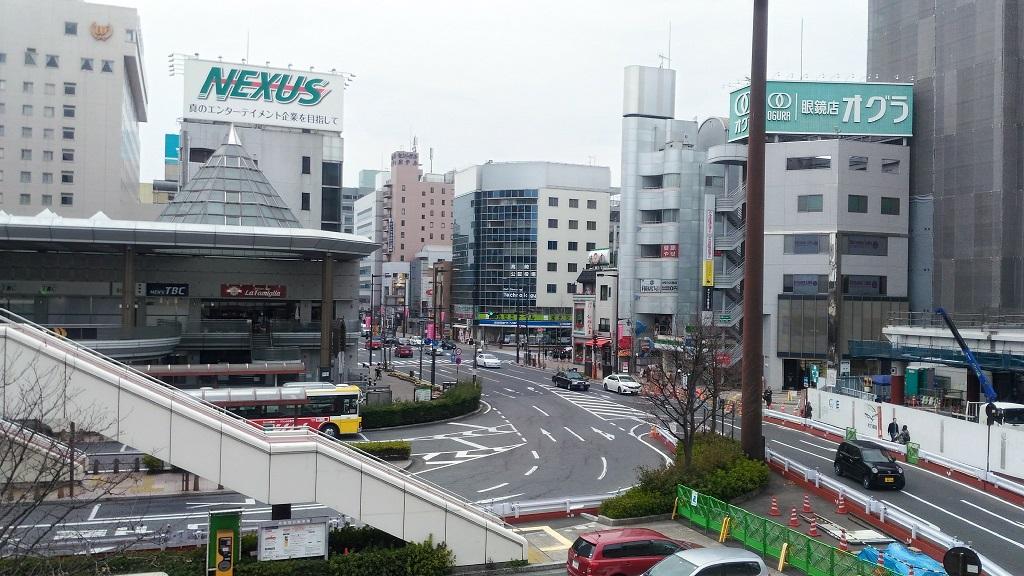 高崎駅西口ロータリー