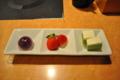 [2013-05-18][鹿児島][晩ご飯][黒豚][しゃぶしゃぶ][寿庵][スイーツ]