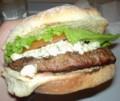 ゴルゴンゾーラチーズハンバーガー