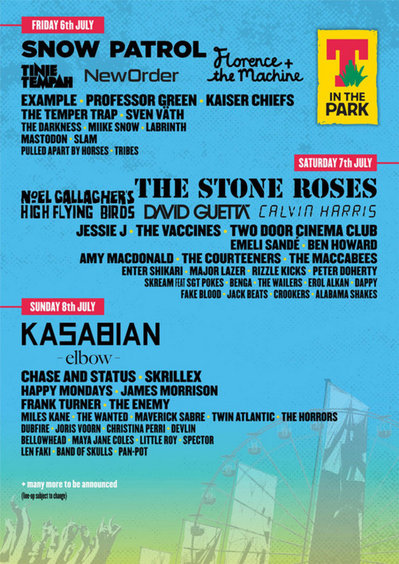 T-in-the-Park-2012-line-up