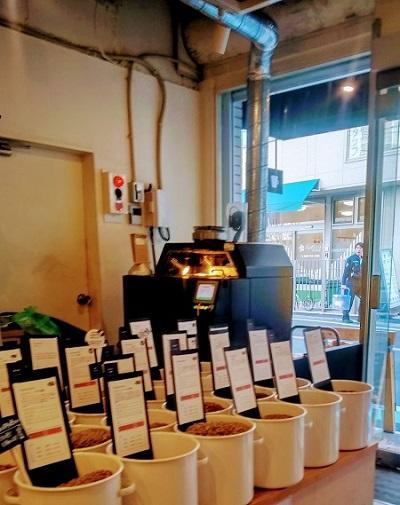 常盤珈琲焙煎所の焙煎機
