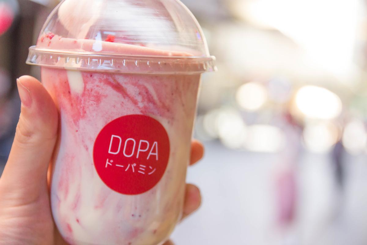 dopa strawberry yogurt