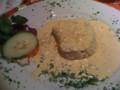 フィレステーキの赤ワイン煮 ゴルゴンゾーラチーズソース