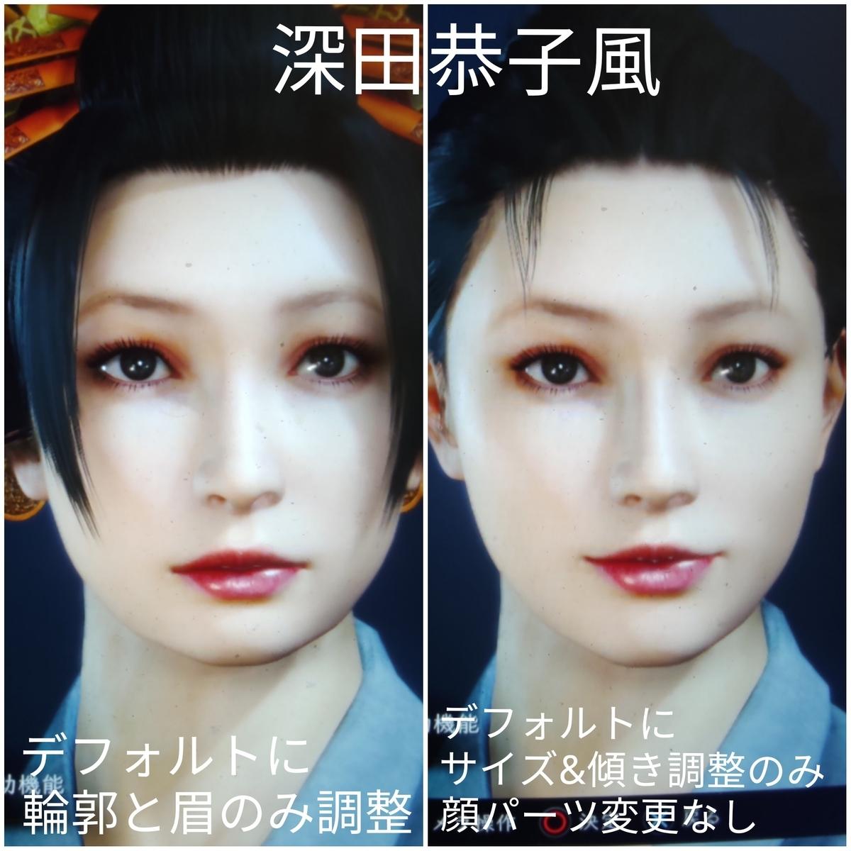 キャラ メイク 2 仁王