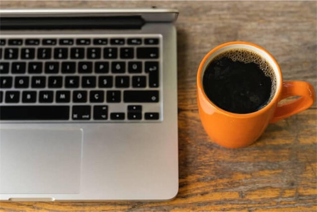 コーヒー癒しと集中力
