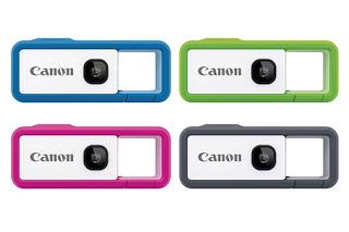 カラナビ型の防水アソビカメラ。キヤノン iNSPiC REC。