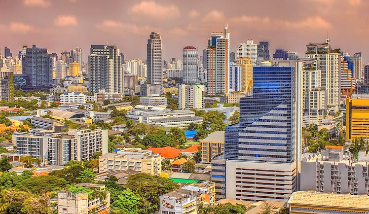 バンコクの超高層ビル