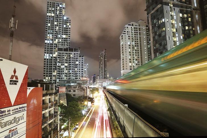 バンコクの高架鉄道・スカイトレイン