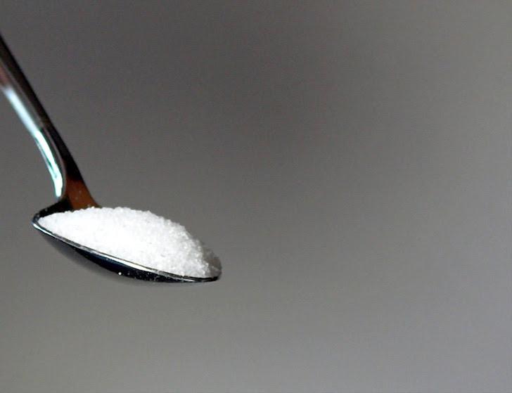 小さじ一杯分の砂糖