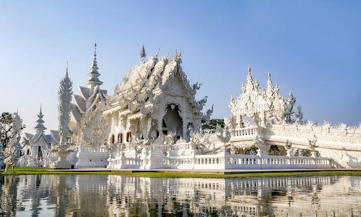 チェンライにある寺院ワット・ロンクン