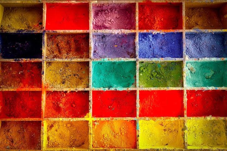 25色のパレット