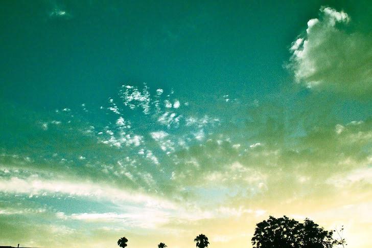 緑色の大空