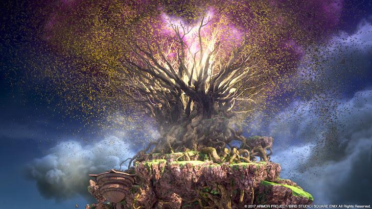 枯れ果てる命の大樹
