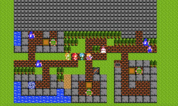 3DS版ドラゴンクエスト11で行けるガライの町