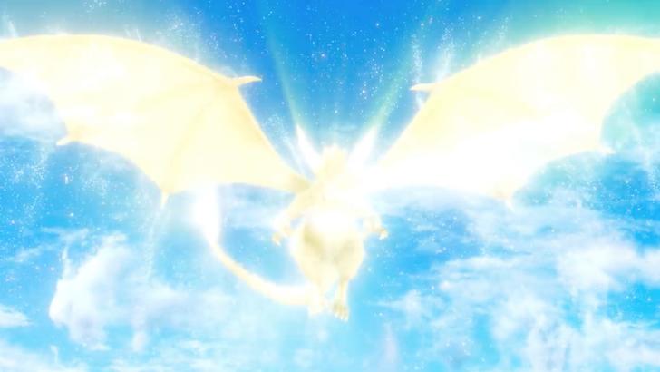 光り輝く昇竜