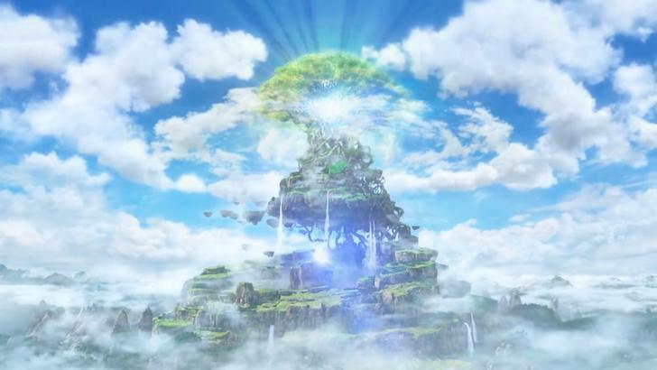 光り輝く命の大樹