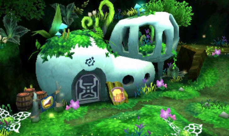 3DS版ドラゴンクエスト11のヨッチ村