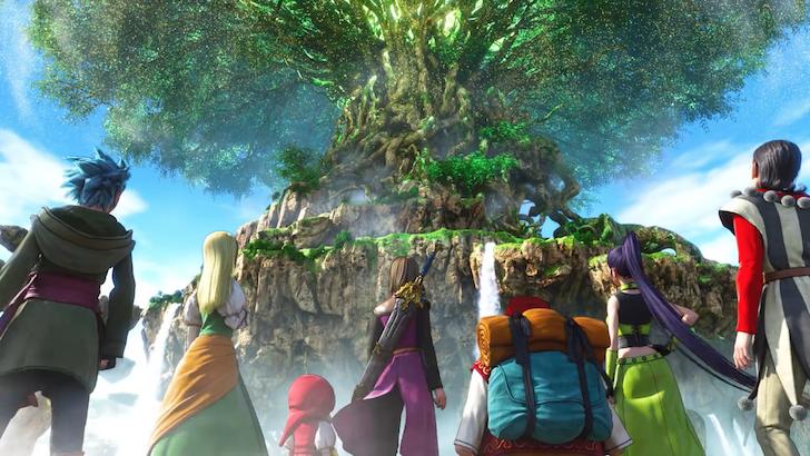 命の大樹を望むドラゴンクエスト11冒険の仲間たち