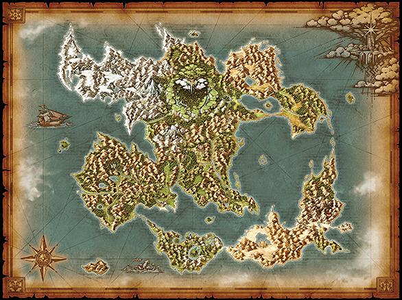 ドラゴンクエスト11の地図