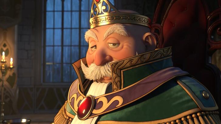謎の老人ロウとそっくりな王様
