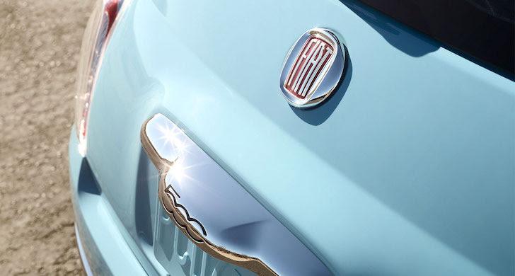 FIAT 500のエンブレム