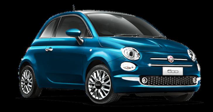 FIAT 500 MareBlu