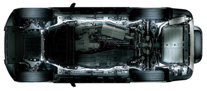 トヨタ・アバンザのU-IMVプラットフォーム