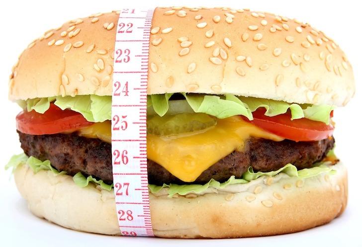 量感のあるハンバーガー