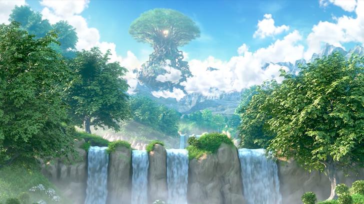 大空高く富裕する命の大樹