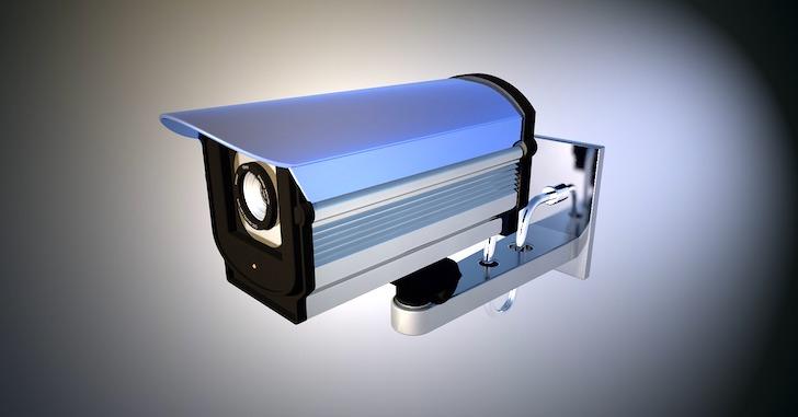 設置式のビデオカメラ