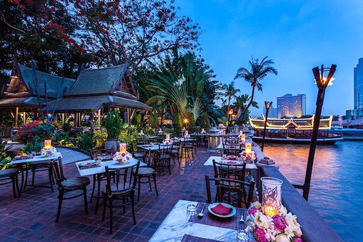 ザ・ペニンシュラバンコクのチャオプラヤ川沿いにあるレストラン