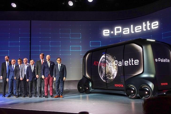 トヨタが発表したe-パレット・コンセプト