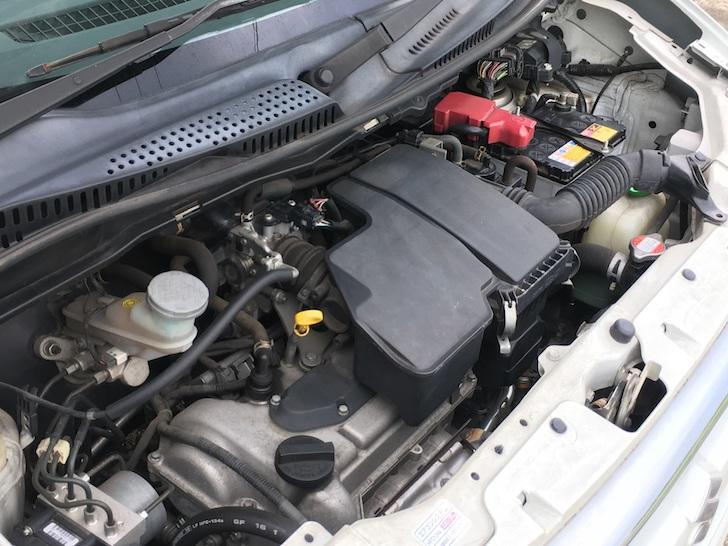 3代目スズキ・ワゴンRのエンジン