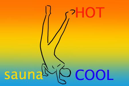サウナ姿勢の案3